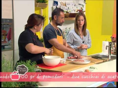 2 Chiacchiere in cucina - 79 - Leandro Barsotti - Lasagne di pane carasau - Hamburger melanzane