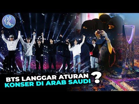 BTS Berhenti Nyanyi Saat Dengar Adzan! 9 Fakta Unik dan Bikin Kagum Konser BTS di Arab Saudi