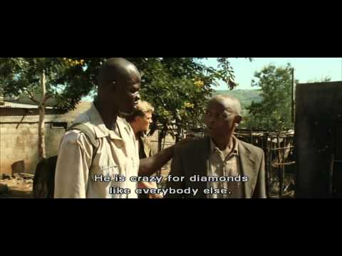 Blood diamond- I hope they don't find oil