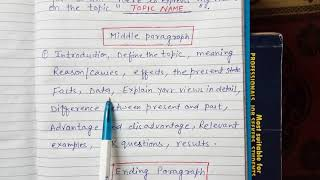 SPEECH FORMAT TYPE -1 ( 11th ,12th and 10 th CLASS)