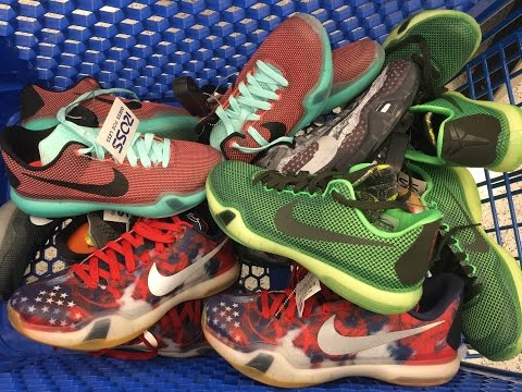 MEGA Kobe X Ross Haul! Easter + Vino + 4th of July + MORE!