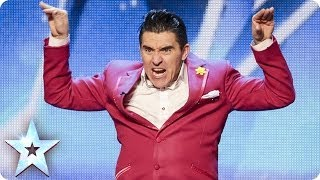 Ricky K\'s laugh out loud love story | Britain\'s Got Talent 2014