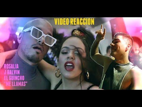 ROSALÍA J Balvin - Con Altura ft  El Guincho   Reaccion