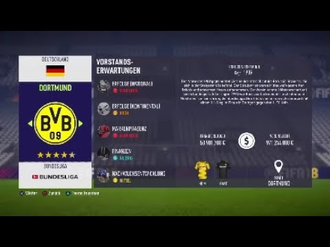 BORUSSIA DORTMUND SPRINT TO GLORY!!! |FIFA 18