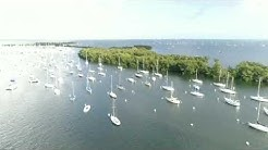 Coconut grove Miami Fl .Sailing Club Anchorage