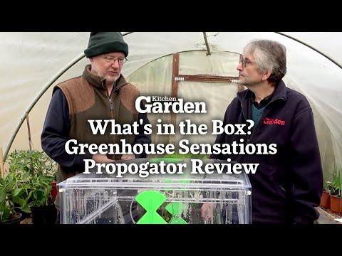 What's In The Box? Greenhouse Sensations Propagator Review | Kitchen Garden Magazine |