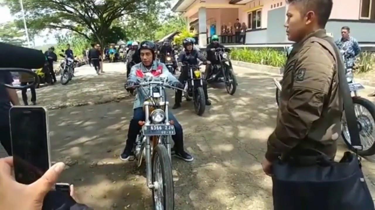 Berita Terbaru Presiden Jokowi Tes Motor Baru Hebat Youtube