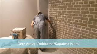 Stonepanel - Duvar Panelleri Uygulaması