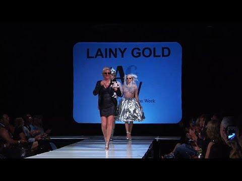 Lainy Gold Designs - Atlantic City Fashion Week Couture Spring 2018