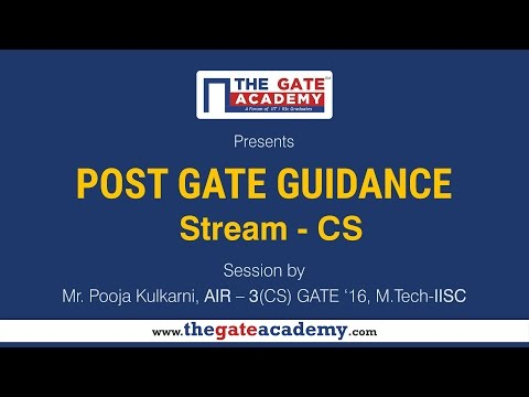 COMPUTER SCIENCE AND SYSTEMS ENGINEERING  | Post GATE Guidance for M.Tech in IIT/NIT & PSU jobs