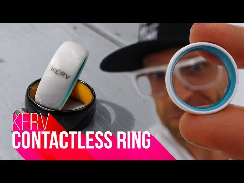 SMART RING!!! | Kerv Contactless Ring Review
