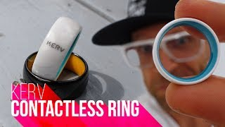 SMART RING!!! | K Ring Contactless Wearable Review