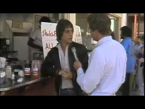 Tony Danza at Pink's Hot Dogs 1981