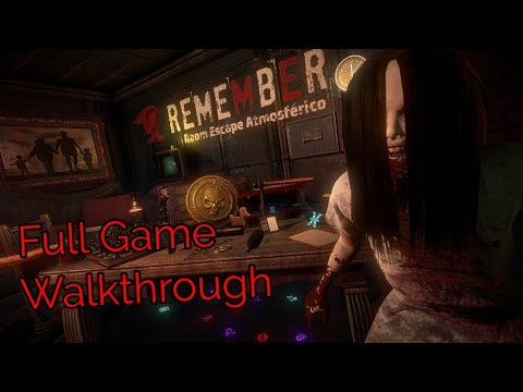 Remember FULL Game Walkthrough Horror Puzzle (By InDgenious)