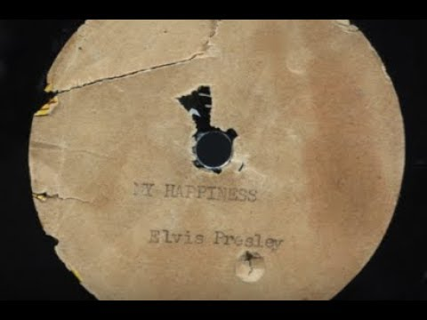 Elvis First Recording Jack White My Happiness Acetate The Spa Guy