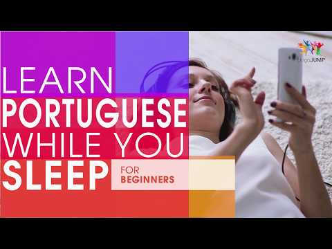 Learn Portuguese While You Sleep! For Beginners! Learn Portuguese Words & Phrases While Sleeping!