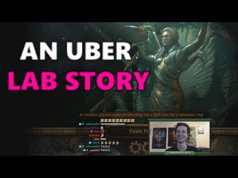 poe how to get to uber lab