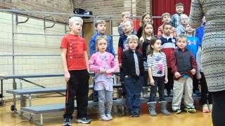1st Grade Music Program Rossman Elementary - Detroit Lakes, Minnesota