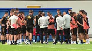 Mondial-2018: la Belgique se met la pression face à la Tunisie