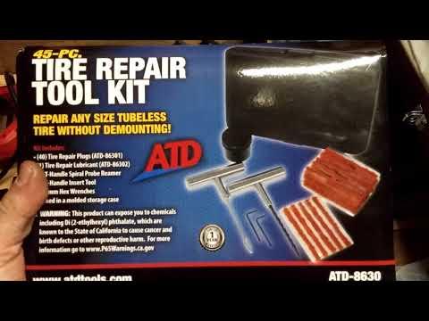 ATD Tire Plug Kit 8630 vs. Cheap Tire Plug Kits