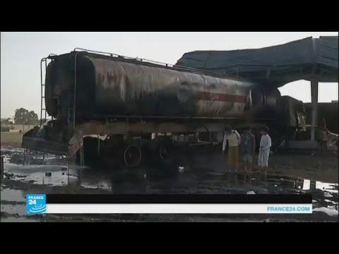 قصف على حي المساجد غرب صنعاء