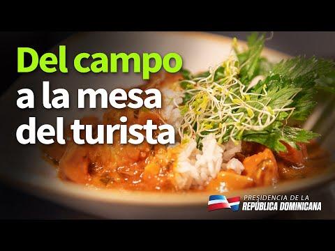 peridad dominicana. 80% de lo que consumen los turistas se produce en nuestros campos