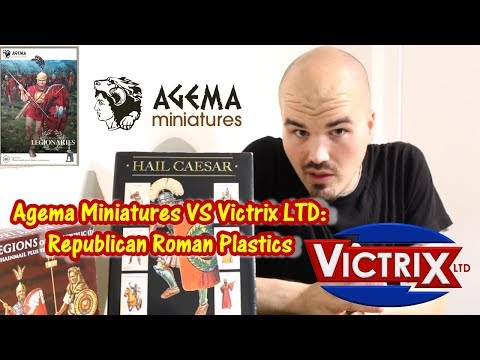 Agema Miniatures VS Victrix - Republican Roman Plastic Options