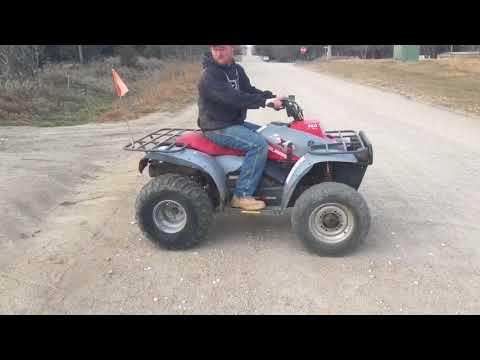 BigIron Online Auctions, 1991 Polaris 350 4x4 ATV 2 Stroke, January 17, 2018