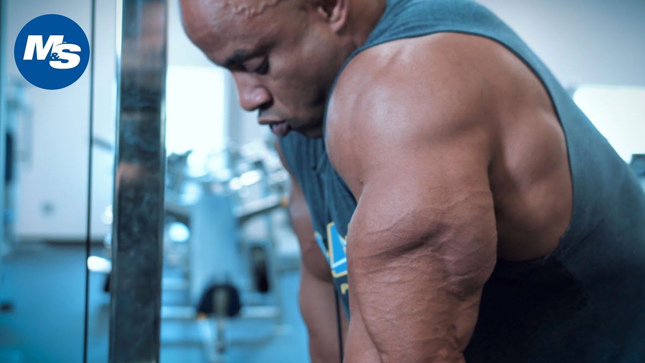Victor Martinez | How to Build Big & Thick Triceps #1