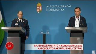 Orbán Viktor: Két koronavírusos beteg van Magyarországon