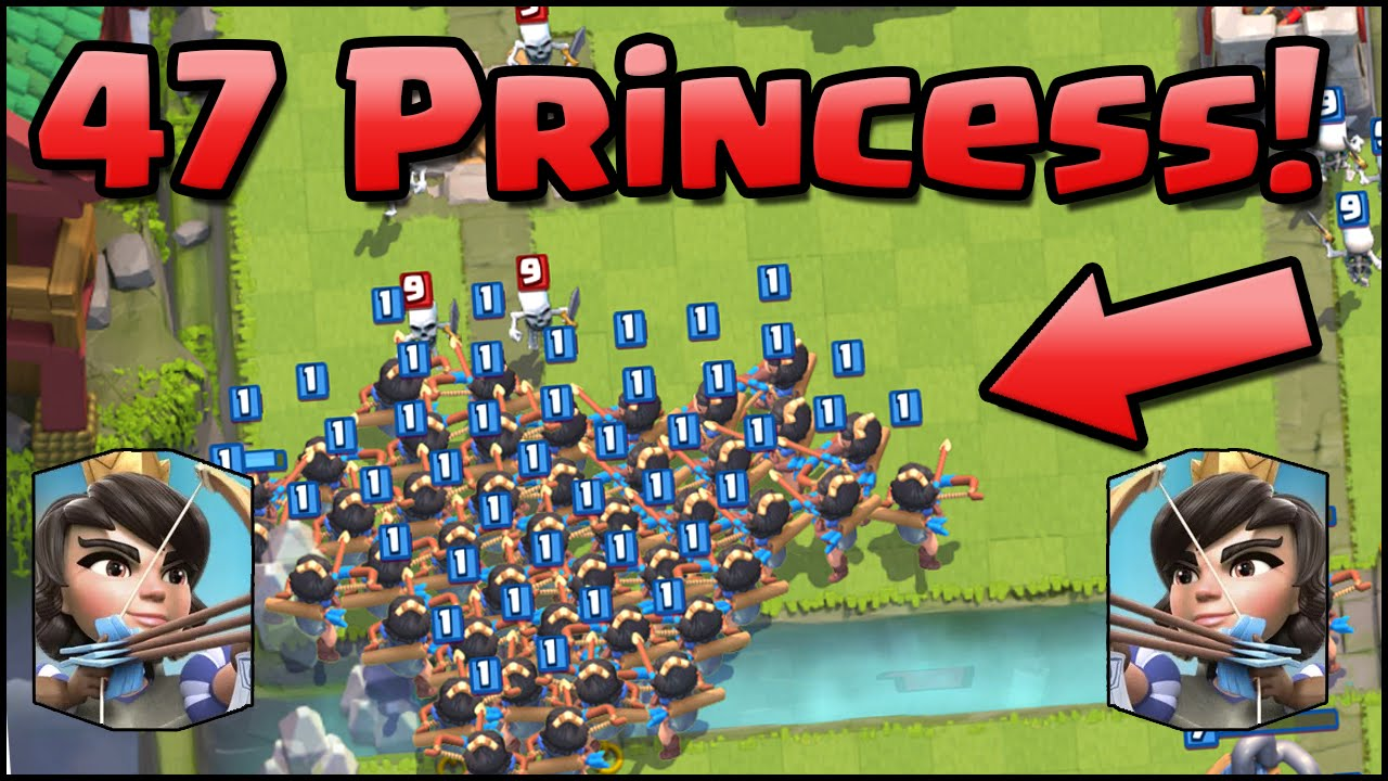Clash royale prinzessin nackt