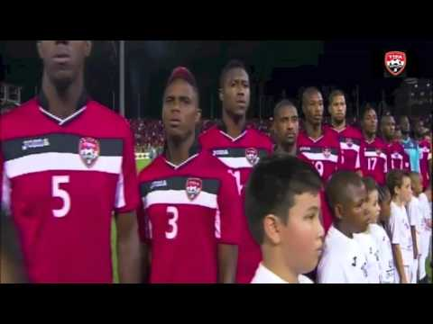 Trinidad and Tobago National Anthem at World Cup qualfier vs United States