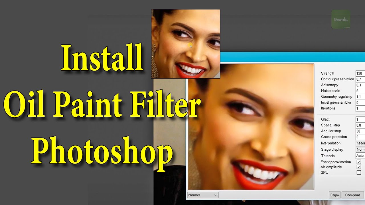 Oil Paint Not Working In Photoshop Cc