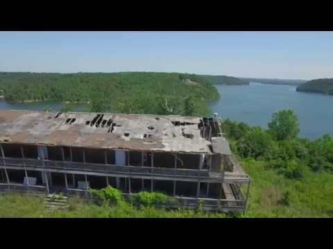 Abandoned Resort On Smith Lake
