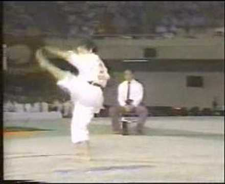 JKA National Championships 1988 Mimura wins Kata Women
