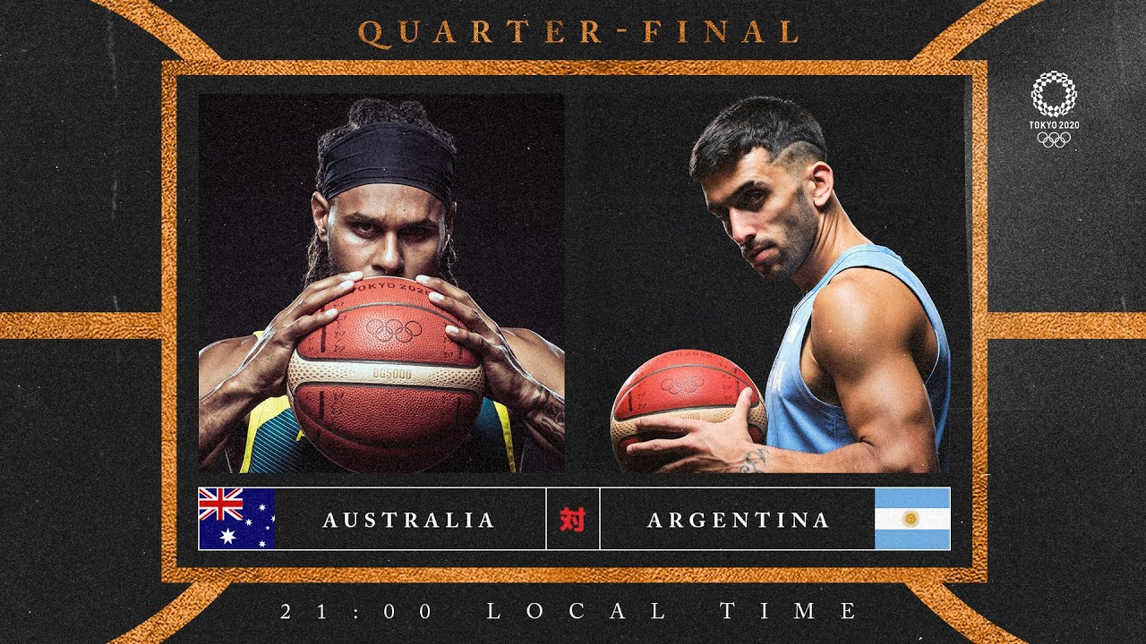 Australia v Argentina - Watch along party | #Tokyo2020 ⚡ #Basketball