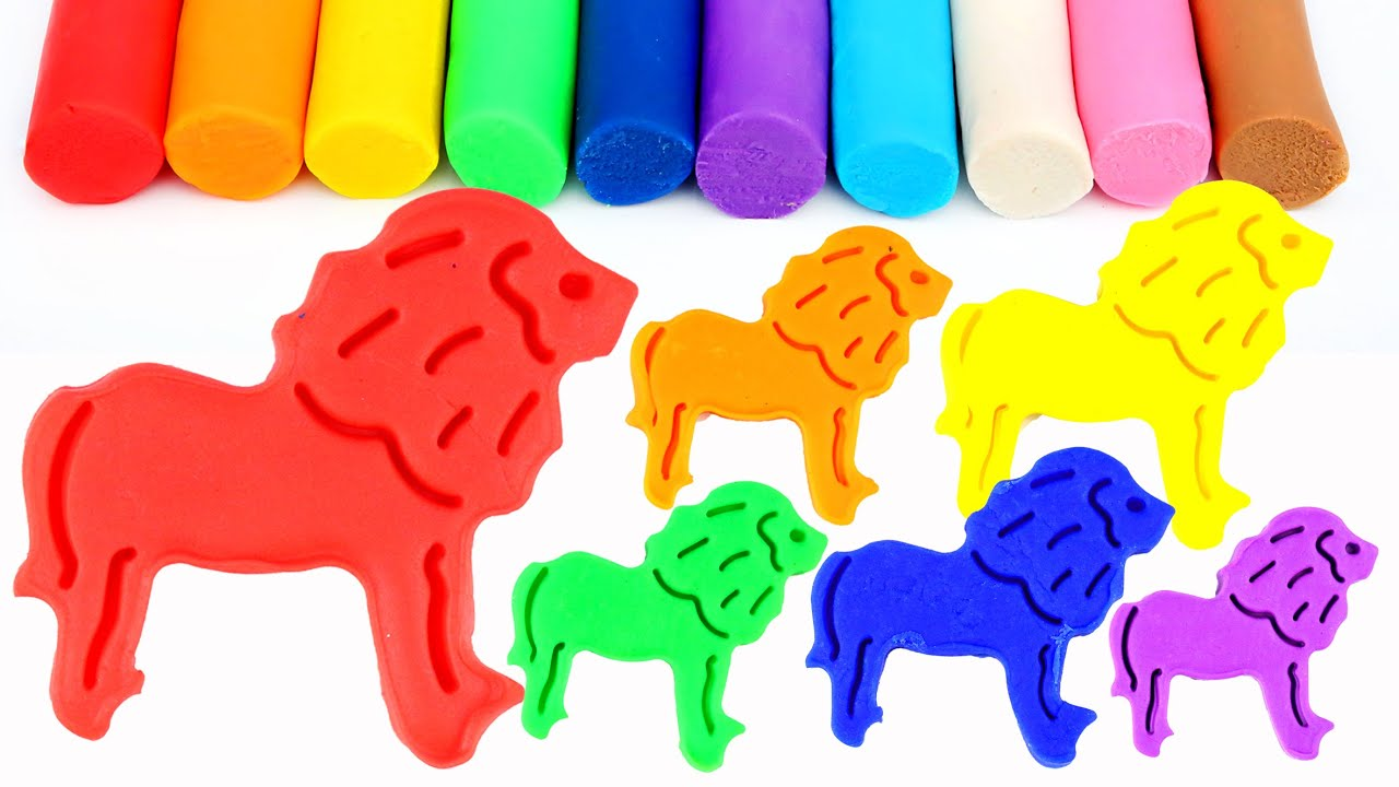 modelling clay lion king play doh super fun and creative