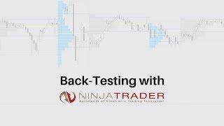 Back testing with NinjaTrader.  Trade simulation made easy.