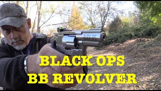 BLACK OPS 2.5 inch BB Revolver - The Exterminator - Air Pistol Review