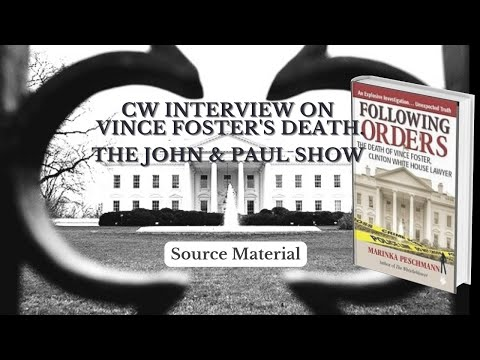 Following Orders: CW (Confidential Witness) on Vince Foster WABC 770 .mov