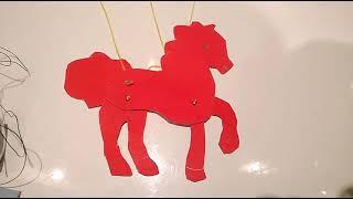 как сделать из картона лошадь для 2 класса