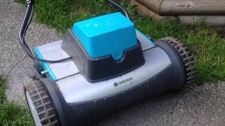 Gardena electric reel mower
