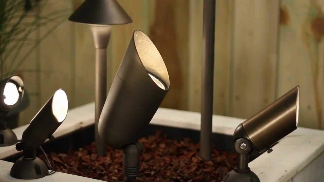 types of landscape lighting by hinkley lighting youtube