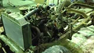 willys jeep m38 engine running smooth