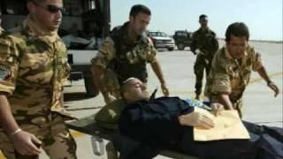 Tributo dedicato ai valorosi carabinieri caduti a Nassirya.