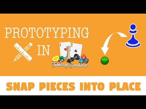 How to Use Snap Points in Tabletop Simulator |