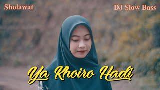 Ya Khoiro Hadi Versi Aku Rindu Padamu Dj Sholawat Ella Fitriyani