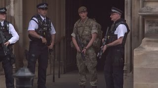 Army on UK streets as police investigate 'network