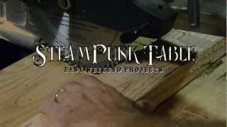 Steampunk Table Design