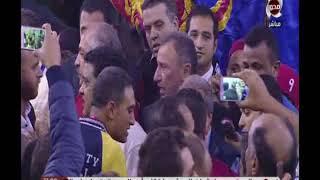 على الهواء إحتفال ماهر همام نجم النادى الأهلى السابق بفوز الخطيب برئاسة  الأهلى